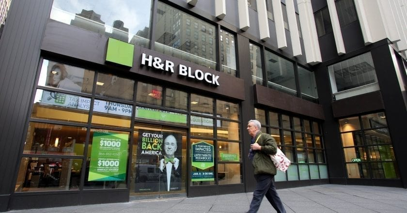 H&R Block launches one of the first services to help navigate CARES Act stimulus relief options